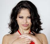 Busty Evie Delatosso Shows Off Her Huge Titties! 16