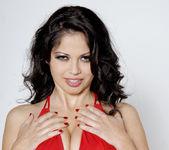 Busty Evie Delatosso Shows Off Her Huge Titties! 17
