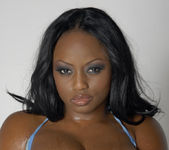 Smokin' Hot Ebony Beauty Jada Fire Lubes Up Her Big Tits 16