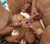 Gina Lynn Blowbanged by five guys 16