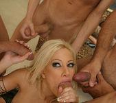Gina Lynn Blowbanged by five guys 21
