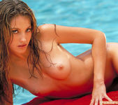Me taking off my blue swimsuit - Jenna Haze 28