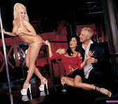 Gina Lynn and Alexis Amore gave Travis the time of his life 2