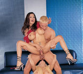 Gina Lynn and Alexis Amore gave Travis the time of his life 16