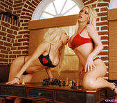 Gina Lynn & Nikki Benz - chess game 6