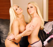 Gina Lynn and Nikki Benz having fun together 26