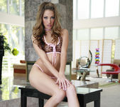Jenna Haze gets on the cute tiger outfit 30