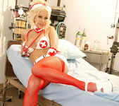 Gina Lynn Dresses Up As A Sexy nurse 9