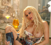Gina Lynn Dresses And Undresses Cowgirl Style 14