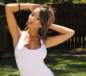 Katsuni Gets Wet N' Wild With The Hose In Her Back Yard 3