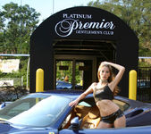 Jenna Haze Poses In Front Of Platinum Premiere 4
