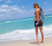 Beautiful Jenna Haze Takes A Trip To Miami Beach And Poses 2