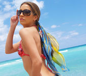 Beautiful Jenna Haze Takes A Trip To Miami Beach And Poses 3