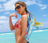 Beautiful Jenna Haze Takes A Trip To Miami Beach And Poses 4
