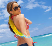 Beautiful Jenna Haze Takes A Trip To Miami Beach And Poses 5