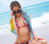 Beautiful Jenna Haze Takes A Trip To Miami Beach And Poses 10