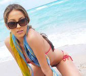 Beautiful Jenna Haze Takes A Trip To Miami Beach And Poses 11