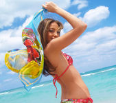 Beautiful Jenna Haze Takes A Trip To Miami Beach And Poses 12