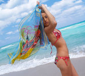 Beautiful Jenna Haze Takes A Trip To Miami Beach And Poses 14