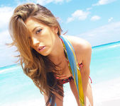 Beautiful Jenna Haze Takes A Trip To Miami Beach And Poses 20