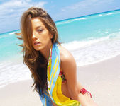 Beautiful Jenna Haze Takes A Trip To Miami Beach And Poses 21