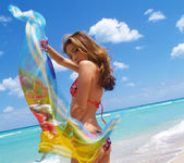 Beautiful Jenna Haze Takes A Trip To Miami Beach And Poses 28