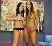 French Babes Katsuni And Melissa Lauren Playing 5