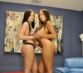 French Babes Katsuni And Melissa Lauren Playing 10