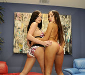 French Babes Katsuni And Melissa Lauren Playing 11