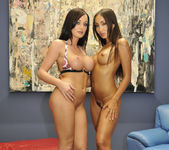 French Babes Katsuni And Melissa Lauren Playing 27