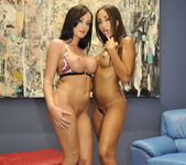 French Babes Katsuni And Melissa Lauren Playing 28