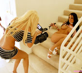 Blonde Bombshell Gina Lynn And Her Friend Alektra Blue Play 21