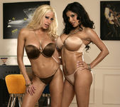 Alexis Amore And Gina Lynn Show Off Their Asses 2