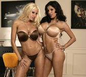 Alexis Amore And Gina Lynn Show Off Their Asses 3