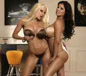 Alexis Amore And Gina Lynn Show Off Their Asses 4