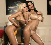 Alexis Amore And Gina Lynn Show Off Their Asses 6