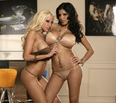 Alexis Amore And Gina Lynn Show Off Their Asses 11