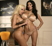 Alexis Amore And Gina Lynn Show Off Their Asses 14