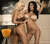 Alexis Amore And Gina Lynn Show Off Their Asses 15