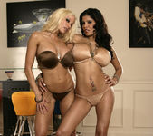 Alexis Amore And Gina Lynn Show Off Their Asses 21