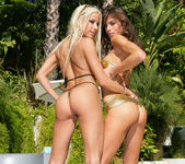 Gina Lynn Strikes A Pose With Her Latina Friend Naomi 18