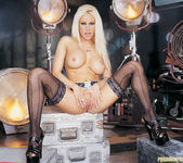 Platinum Blonde Gina Lynn Plays With Her Tight Pussy 2