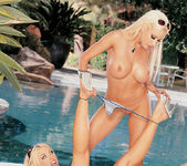 Beautiful Blonde Gina Lynn Invites Her Friend Brittney Skye  4