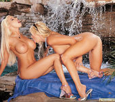 Beautiful Blonde Gina Lynn Invites Her Friend Brittney Skye  8