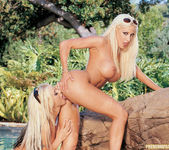 Beautiful Blonde Gina Lynn Invites Her Friend Brittney Skye  15