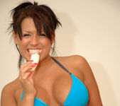 Eva Angelina getting naughty with a banana 15