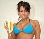 Eva Angelina getting naughty with a banana 23