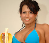 Eva Angelina getting naughty with a banana 26
