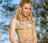 Super babe Lexi Belle looks sexy in the great outdoors 6