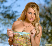 Super babe Lexi Belle looks sexy in the great outdoors 15